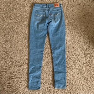 Levi's Super Skinny Jeans Light Wash 535